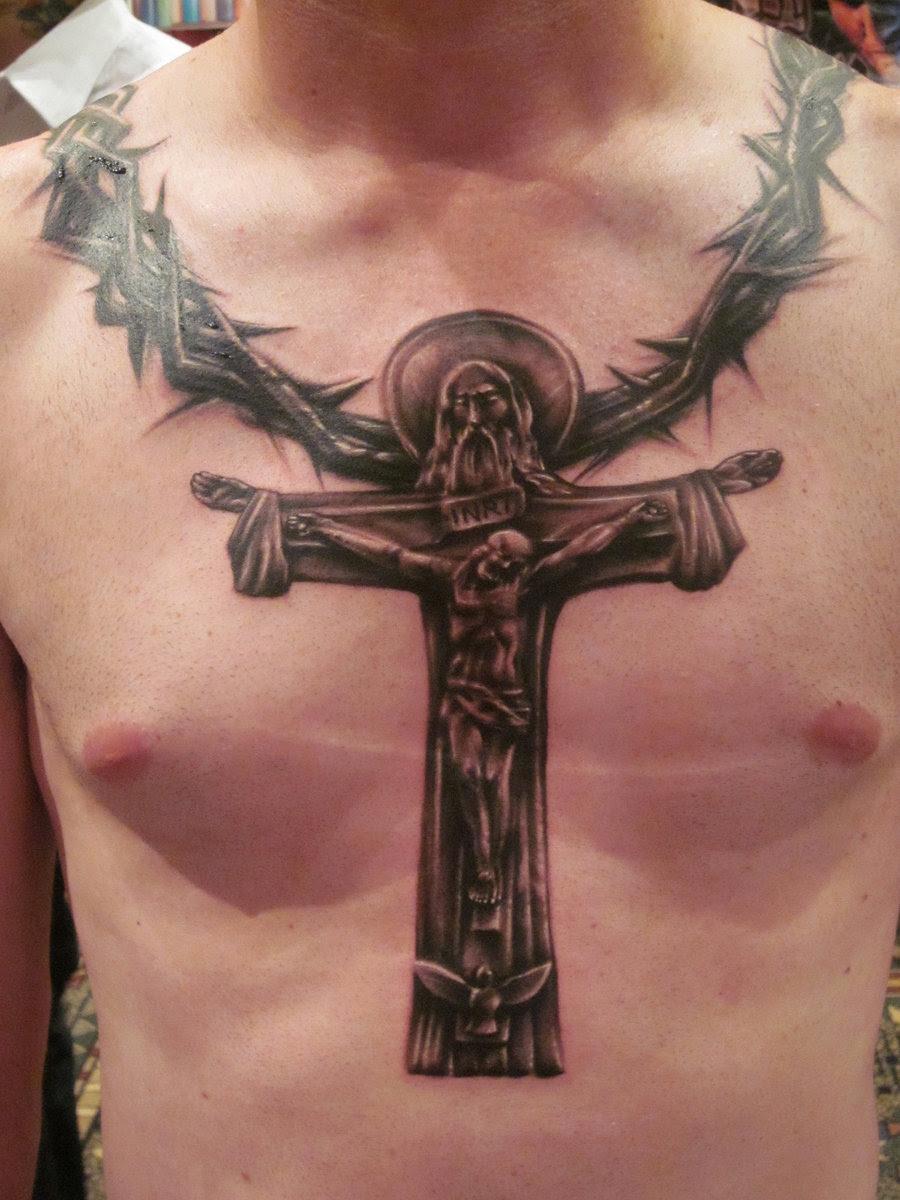 46 Cross Tattoos Ideas For Men and Women - InspirationSeek.com