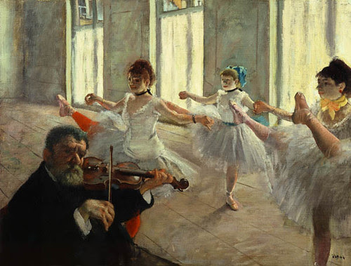 The Rehearsal, Hilarie-Germain-Edgar Degas, 1878-1879