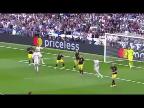 ملخص لمباراة ريال مدريد و أتليتيكو