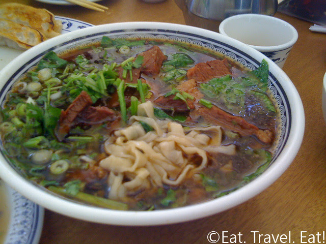 Hand Pulled Beef Noodle Soup