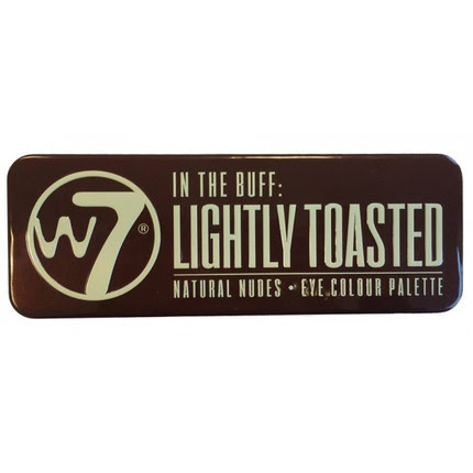 W7 Lightly Toasted Natural Nudes Paleta 12 Cieni do Powiek