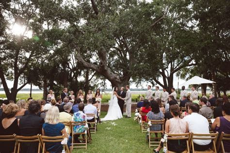The Wedding Row   Christine & Jeff {Lowndes Grove}