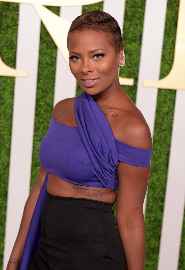 LOS ANGELES, CA - JUNE 24:  Model/actress Eva Marcille attends the 2015 BET Awards Debra Lee Pre-Dinner at Sunset Tower Hotel on June 24, 2015 in Los Angeles, California.  (Photo by Jason Kempin/BET/Getty Images for BET)