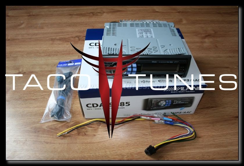 How To Wire Toyota Tacoma Amplifier Component Speakers