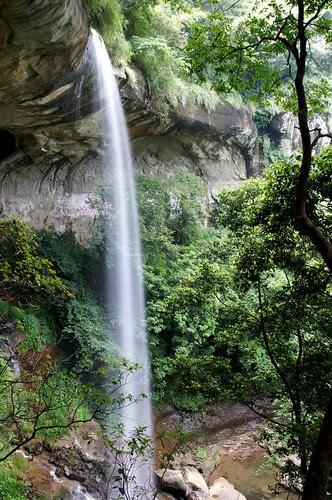 侯硐越嶺三貂嶺步道-枇杷洞瀑布