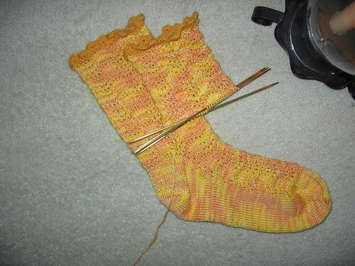 Kaibashira 2nd sock, flash