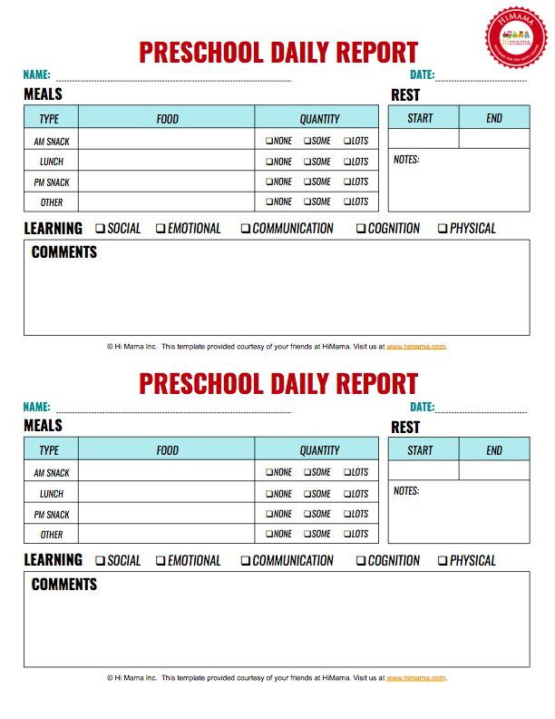 1000+ ideas about Daycare Daily Sheets on Pinterest | Infant daily ...