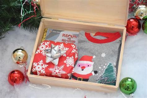 Personalized Christmas Eve Box Wooden Christmas Eve Box