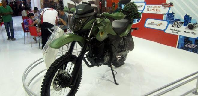 Modifikasi Honda Verza Ala Militer Modifikasi Motor