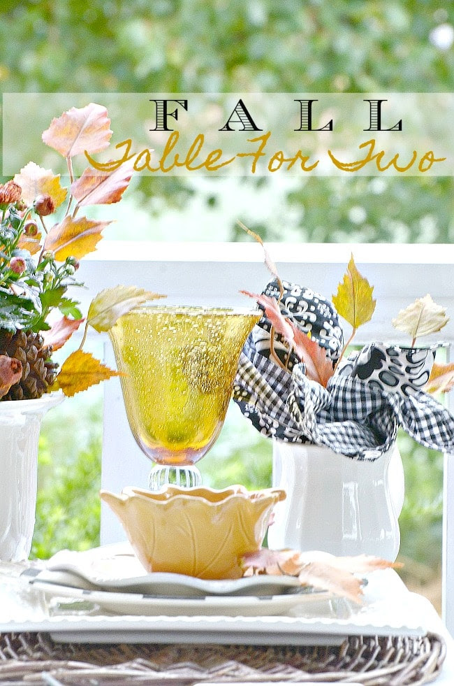 1 FALL TABLE FOR TWO-TITLE PAGE