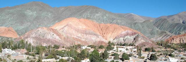 Purmamarca dans la région de Jujuy