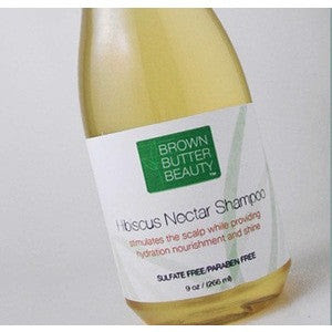Brown Butter Beauty Hibiscus Nectar Shampoo - Size 8oz