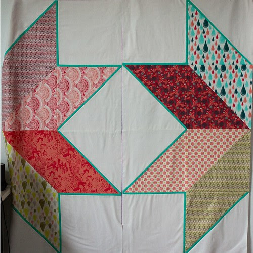 Giant Star Quilt 2