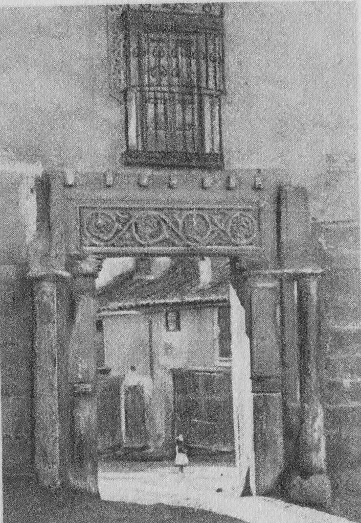 Corral de Don Diego a principios del siglo XX