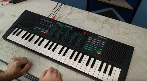 yamaha pss  keyboard    started