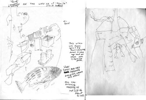 August 2012: Sketching Under Water