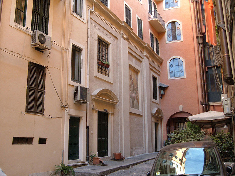 File:Campo Marzio - Chiesa di S. Gregorio dei Muratori.jpg