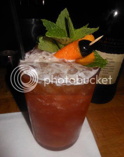 will thompson drink boston sherry jungle bird