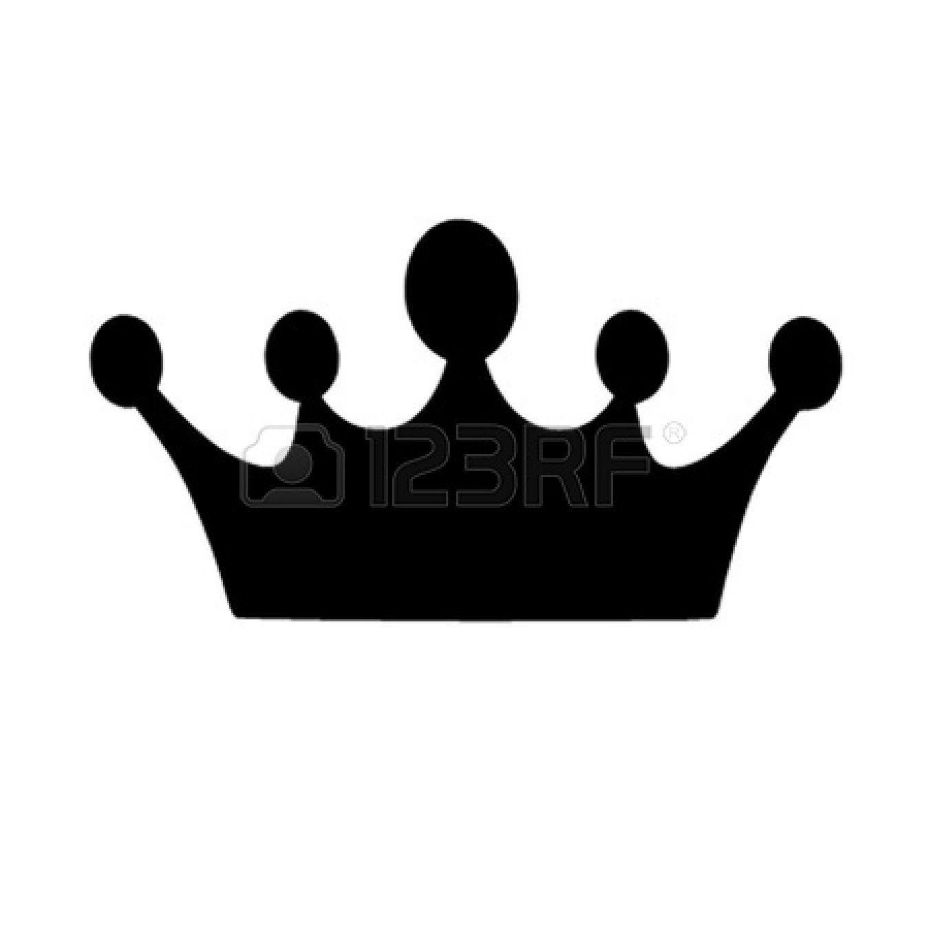 Crown Black And White Crown Tiara House Black And White Clipart 2
