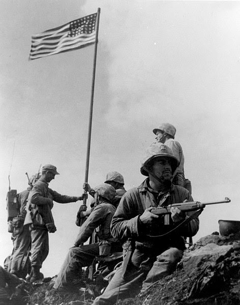 File:First Iwo Jima Flag Raising.jpg
