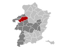 Vị trí của Beringen ở Limburg