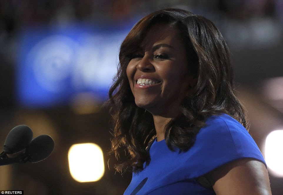 Michelle Obama brought down the house tonight at the Democratic National Convention in Philadelphia