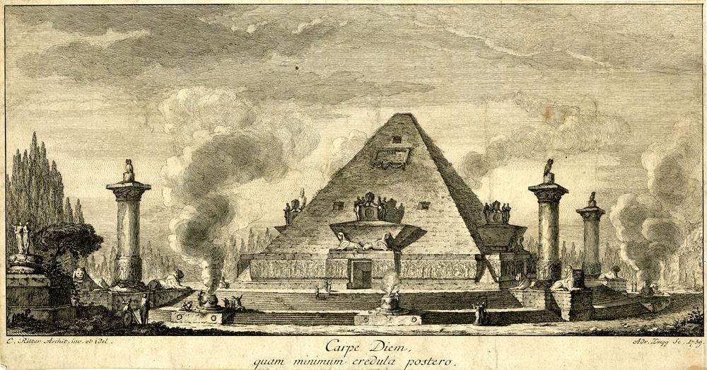 British Museum Carpe Diem Quam Minimum Credula Postero