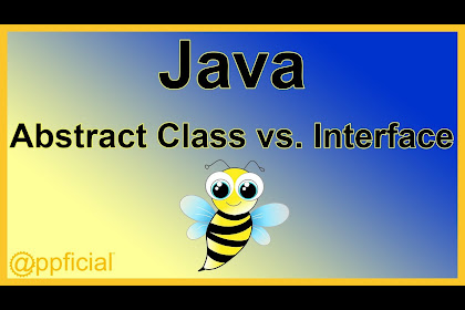 Abstract Class And Interface Java Example