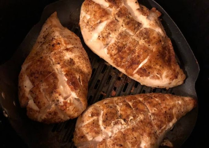 Step-by-Step Guide to Make Award-winning Air fried chicken breasts