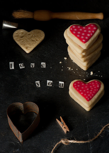 shortbread for someone special by magshendey on Flickr.