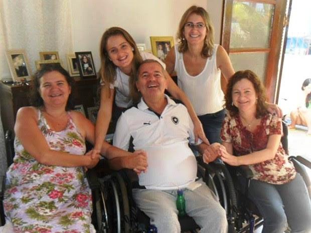 Família Dato em Juiz de Fora (Foto: Aline Dato/Arquivo Pessoal)