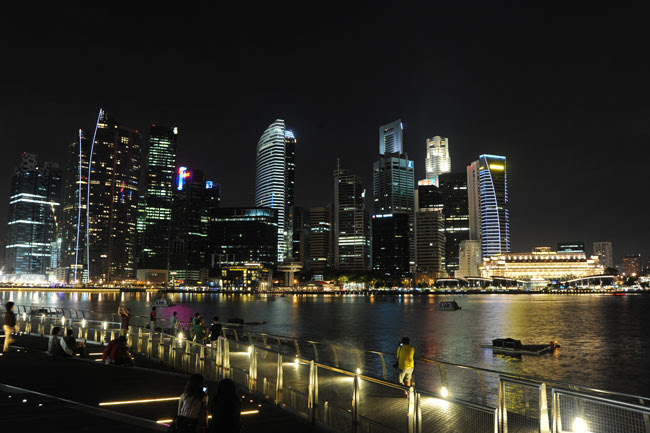 Earth Hour Singapore 2011 (foto: ©WWF / Mabel Lee Singapore Skyline)