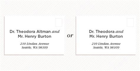 How To Address Wedding Invitations Two Doctors   Wedding Ideas