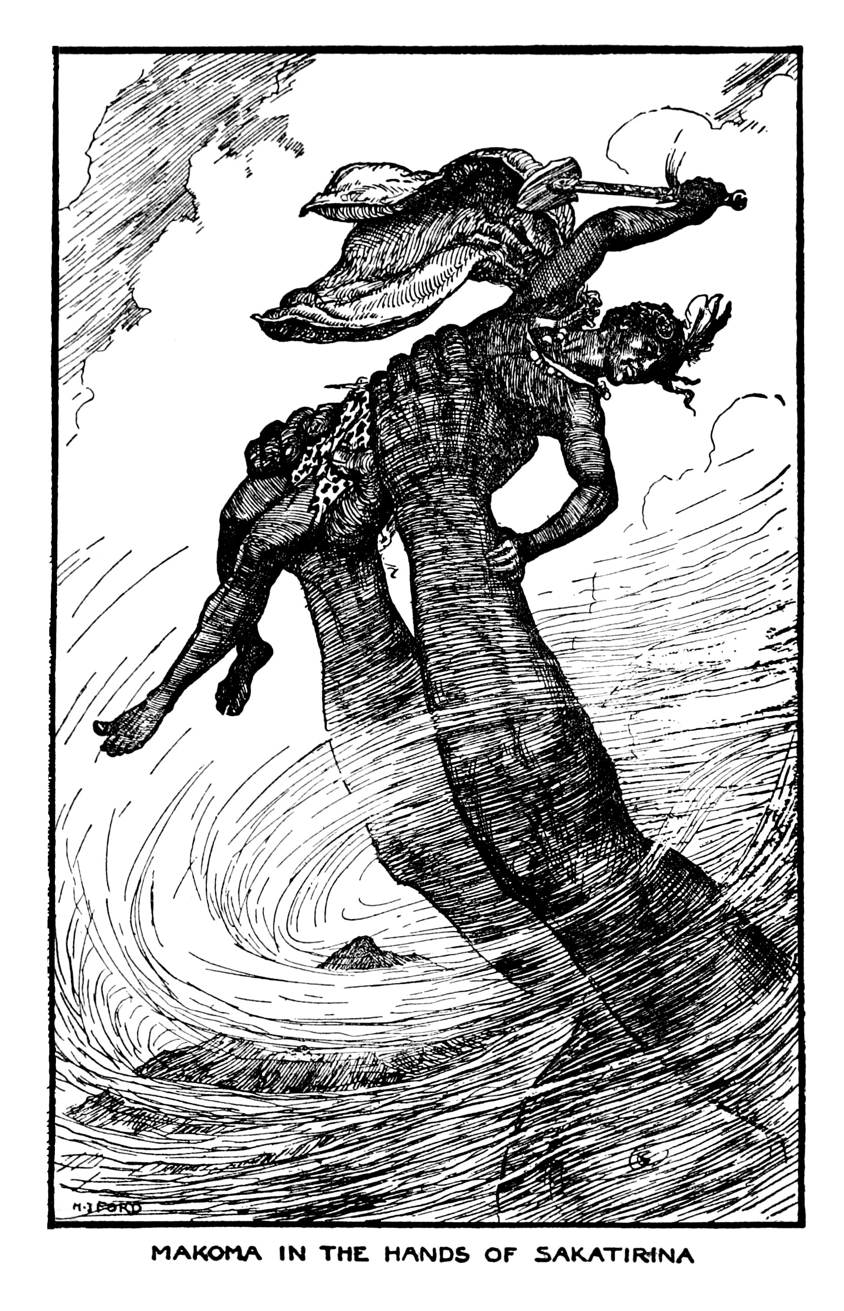 Henry Justice Ford - The orange fairy book edited by Andrew Lang , 1906 (illustration 4)