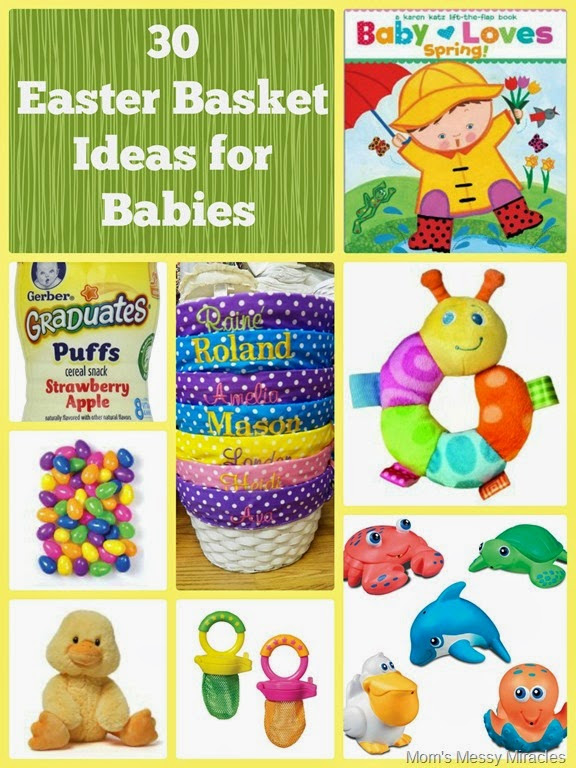 Easter Basket Ideas For Baby The Shirley Journey