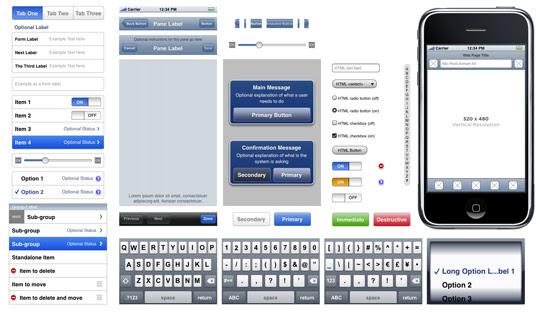 iphone and ipad ui