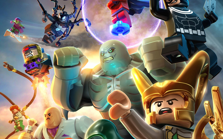 Lego Marvel Superheroes Deadpool Wallpaper Impressive Illustrations