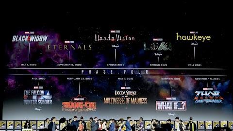Phase 4 Marvel Comic Con