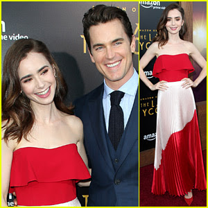 Matt Bomer & Lily Collins Are All Smiles at 'Last Tycoon' Premiere!