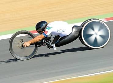 Zanardi no ciclismo da Paraolimpíada