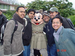 Bersama Minnie Mouse, Disneyland Paris, France