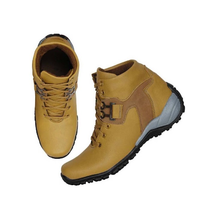SHC TAN Boots for Men (9, TAN)