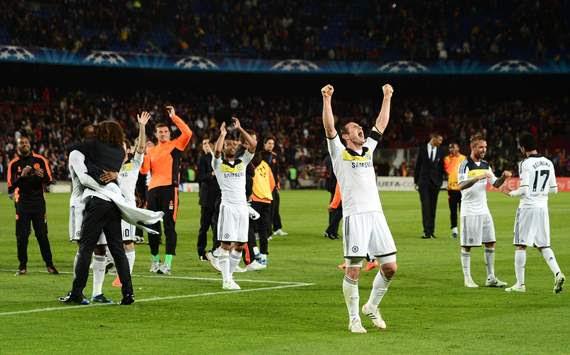 CL - FC Barcelona v FC Chelsea, Frank Lampard