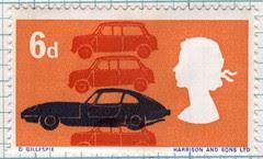 british technology postage stamp by maraid
