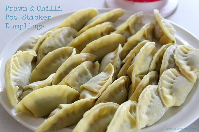Prawn & Chilli Pot-Sticker Dumplings 1
