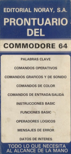 Prontuario del Commodore 64