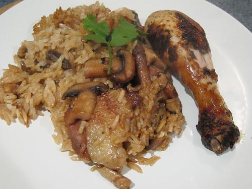 Mum's Chicken Rice