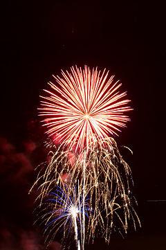 Summerfest 2008 fireworks 7109