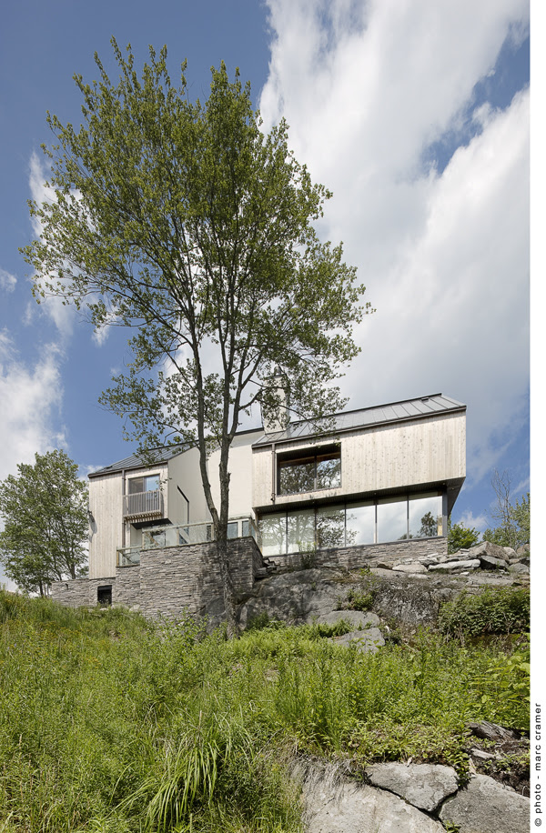 Houle-Thibault residence - Chevalier Morales architectes