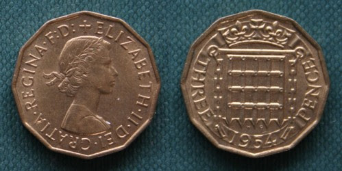 Image result for old coins threepence